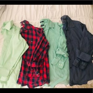 Other - 4 Men's Button Up Shirts